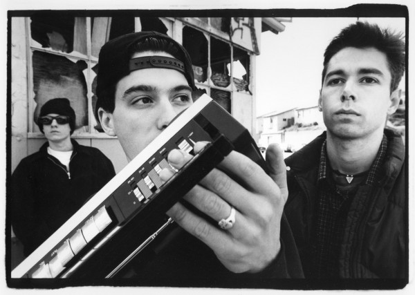 Adam Nathaniel Yauch A.K.A. MCA (right)