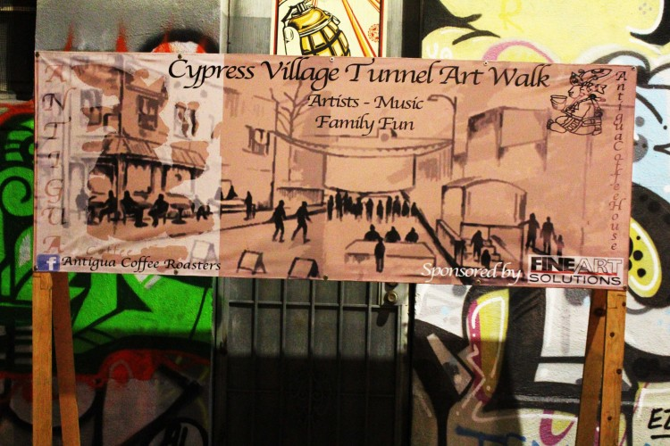 Cypress Village Tunnel Artwalk